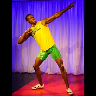 Usain Bolt Waxwork Launch