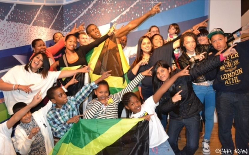 Usain Bolt Waxwork Launch