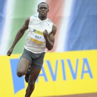 Usain Bolt Aviva London