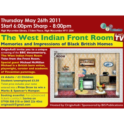 West Indian Front Room Exhibition 2011