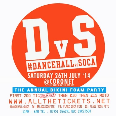 Dancehall v Soca July