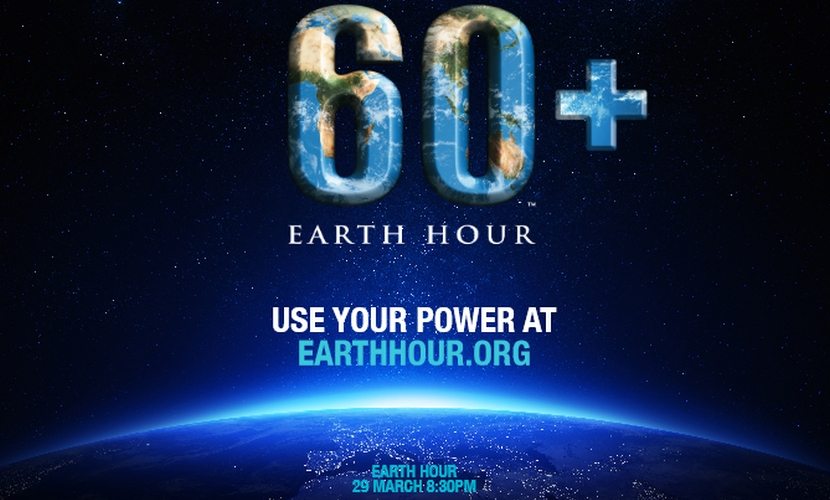 Earth Hour 29 March