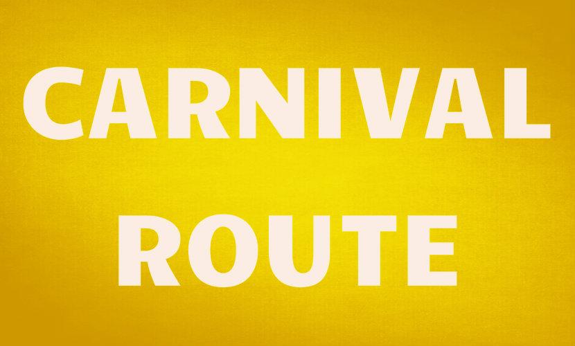 Notting Hill Carnival Route Map