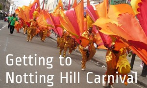 Notting Hill Carnival Getting There