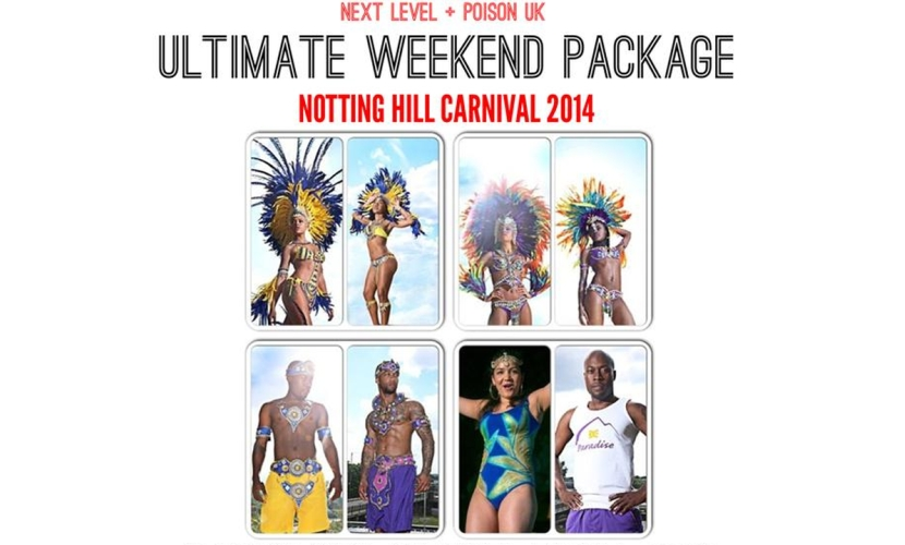 Notting Hill Carnival 2014 Weekend Package