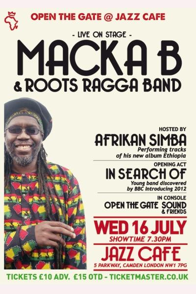 Open the Gate Macka B July 2014