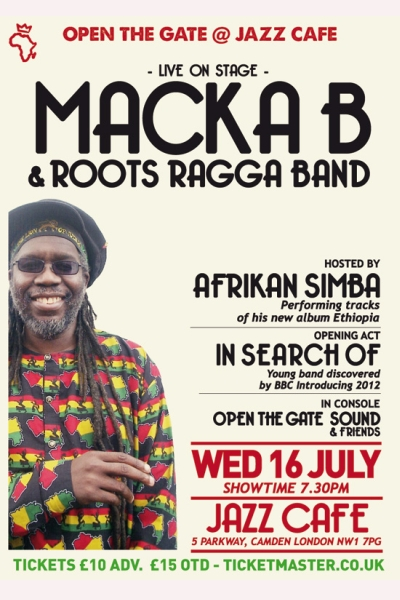 Open the Gate Macka B July 2014