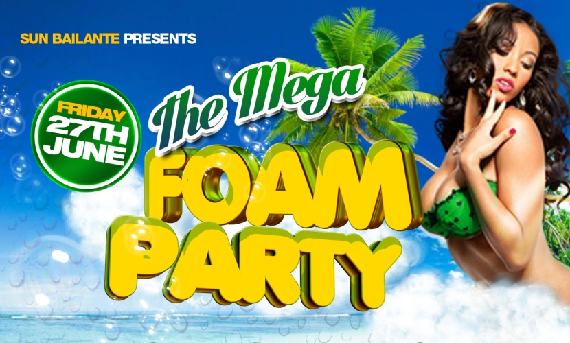 Sun Bailante Mega Foam Party