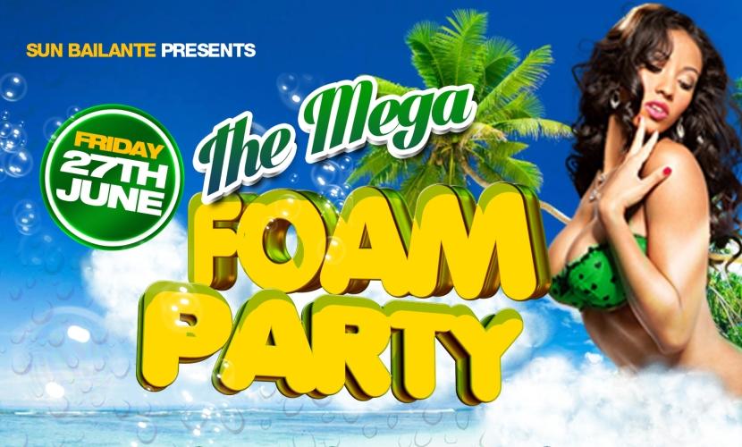 Sun Bailante Mega Foam Party