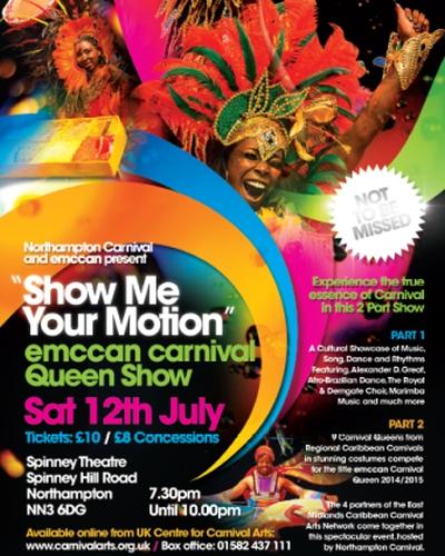 2014 EMCCAN Carnival Queen Show
