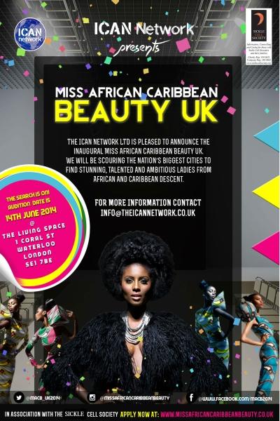 2014 Miss African Caribbean Beauty
