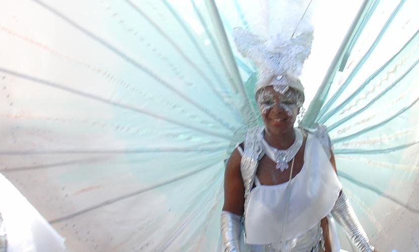 Carnival Mas White