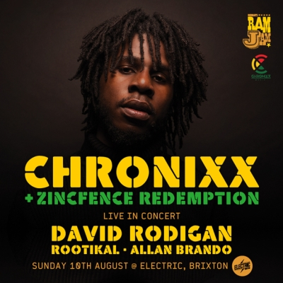 Chronixx Brixton August 2014