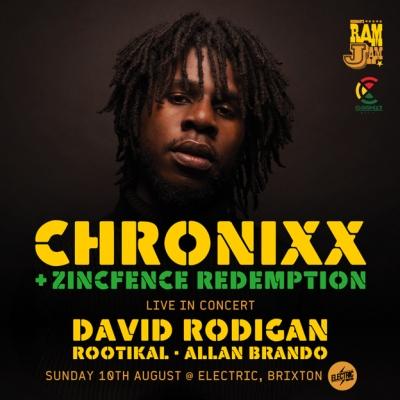 Chronixx Brixton August 2014
