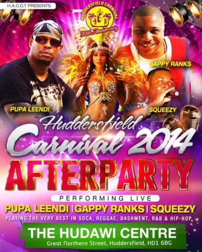 Huddersfield Carnival Afterparty