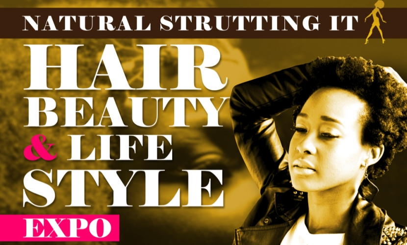 Natural Strutting It Hair Beauty Expo 2014