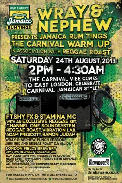 Reggae Roast Wray Nephew