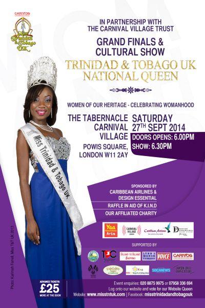 Miss T&T UK 2014