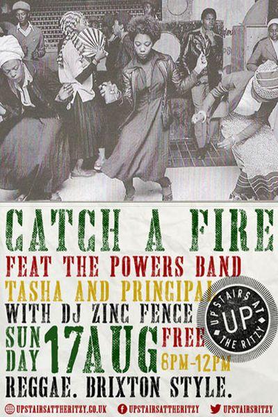 Catch A Fire August 2014