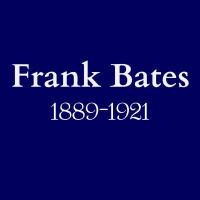 Frank Bates blue plaque