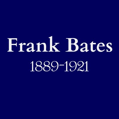 Frank Bates blue plaque