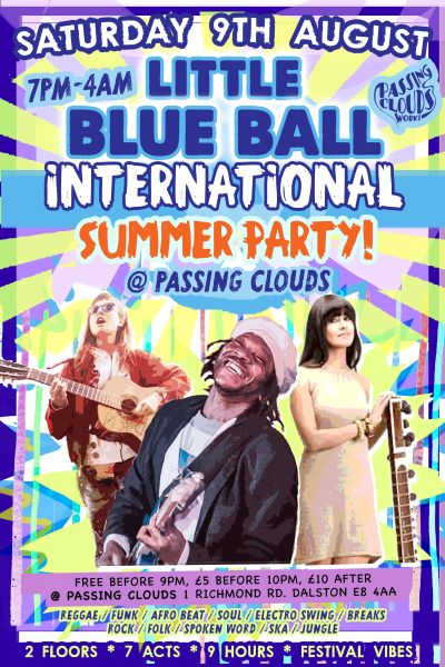 Little Blue Ball Aug 2014