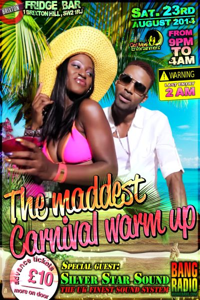 Maddest Carnival Warm Up Party 2014