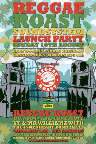 Reggae Roast Soundsystem Launch