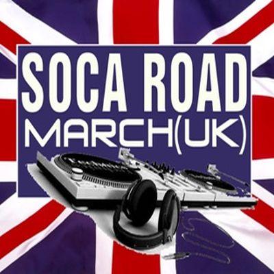 Soca Road March UK logo