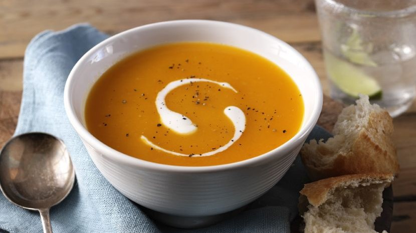 Spicey Caribbean Pumpkin Soup