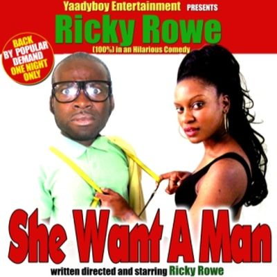 Theatre She Want A Man