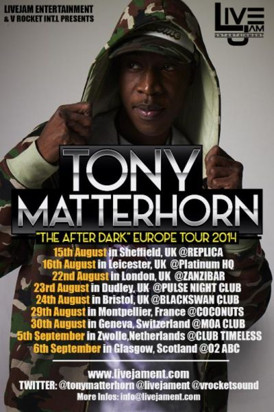 Ton Matterhorn 2014 UK Tour
