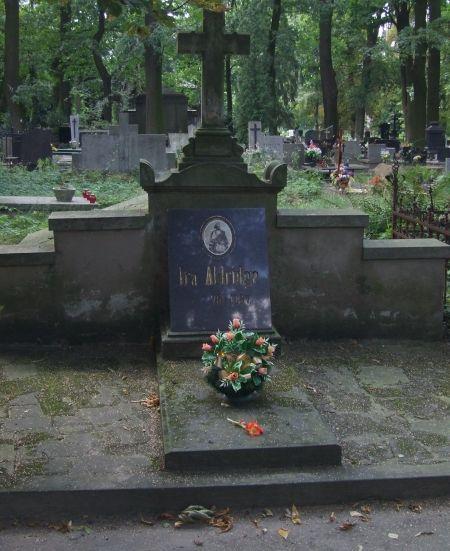 Ira Aldridge Grave