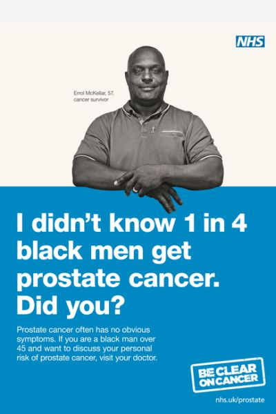 Campaign Prostate Cancer 2014