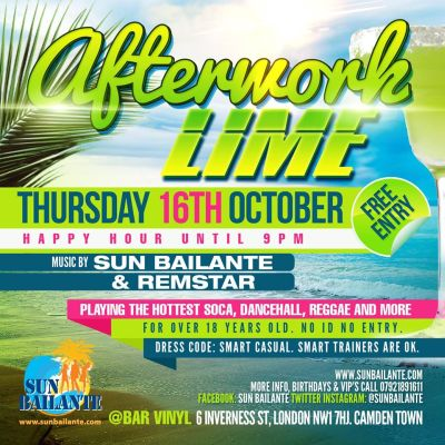 Afterwork Lime Thursdays