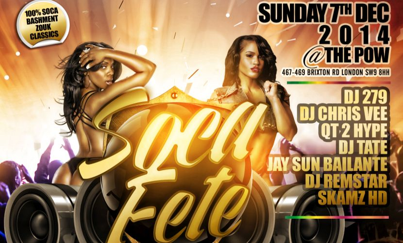 Soca Fete Sunday Dec 2014