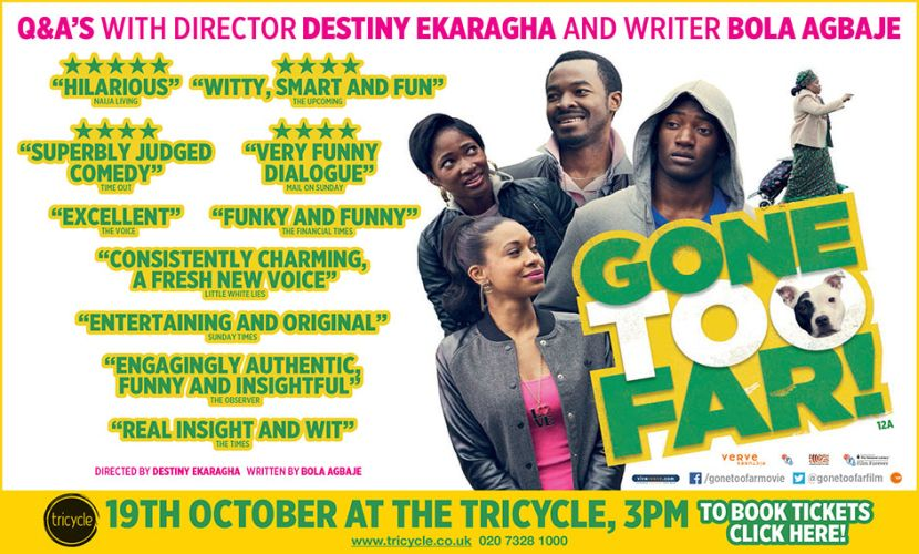 Tricycle Theatre Gone To Far