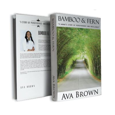 Ava Brown Bamboo and Fern