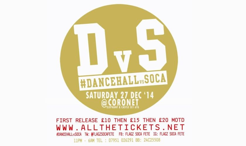 Dancehal v Soca Dec 2014