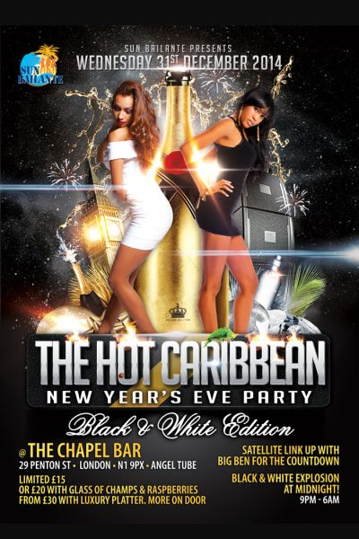 Hot Caribbean NYE Party