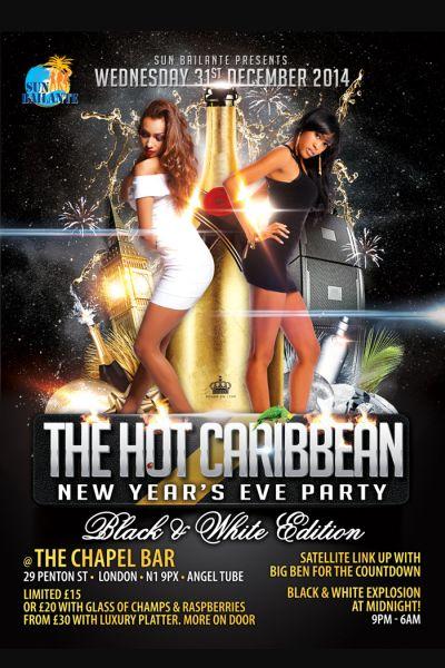 Hot Caribbean NYE Party