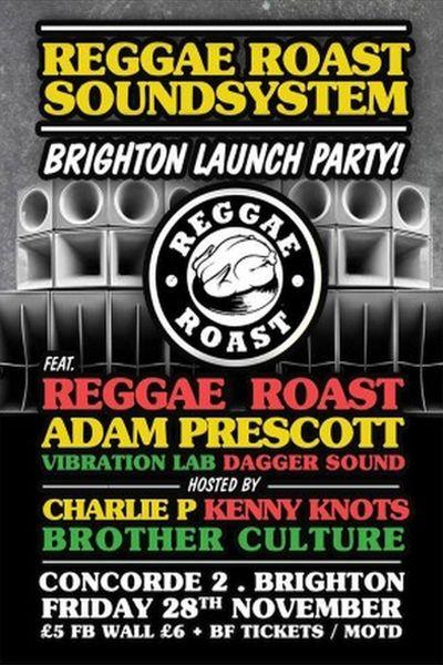 Reggae Roast Brighton