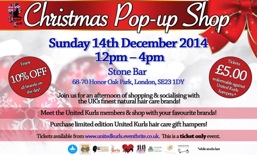 United Kurls Christmas Pop UP Shop