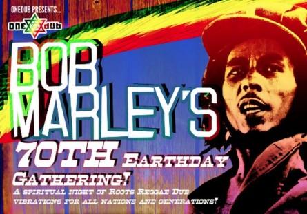Bob Marley 70 bday Birmingham