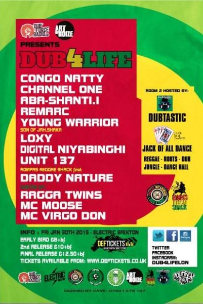 Dub4life Electric Brixton