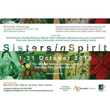 Art Exhibition Sisters in Spirit