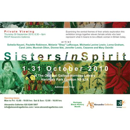 Art Exhibition Sisters in Spirit