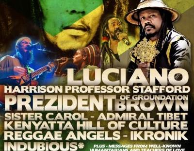 Bob Marley 70th Webcast