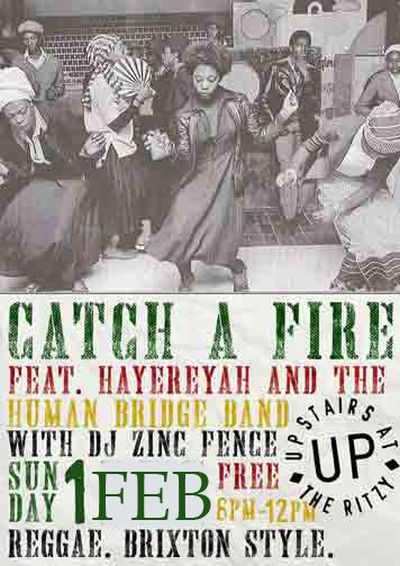 Catch a Fire Reggae Night 2015