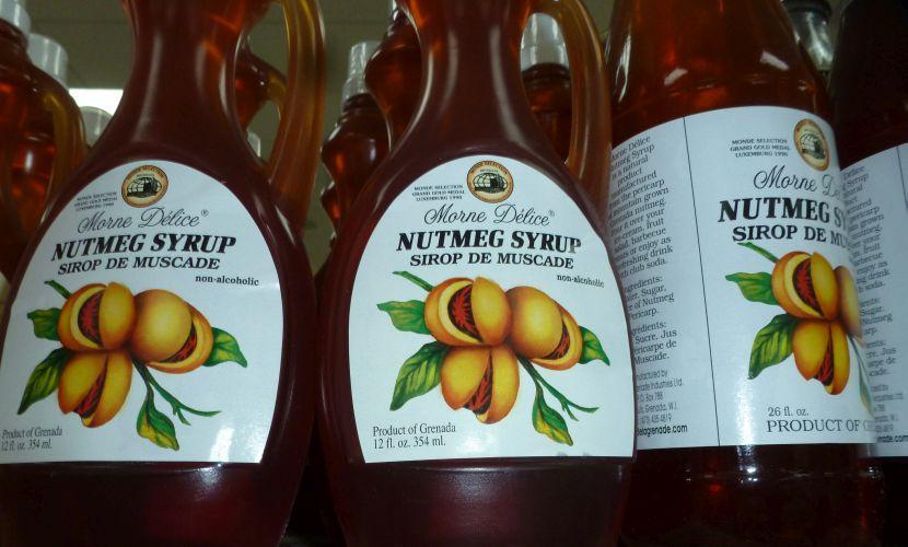Nutmeg Syrup Grenada